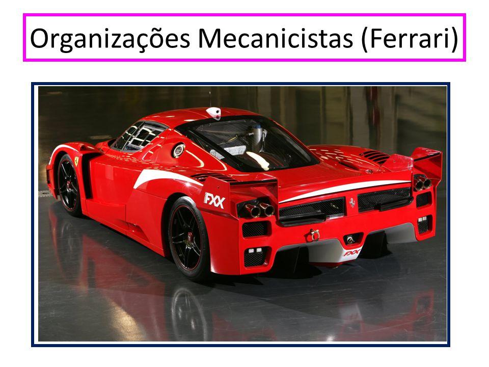 Organizações Mecanicistas (Ferrari)