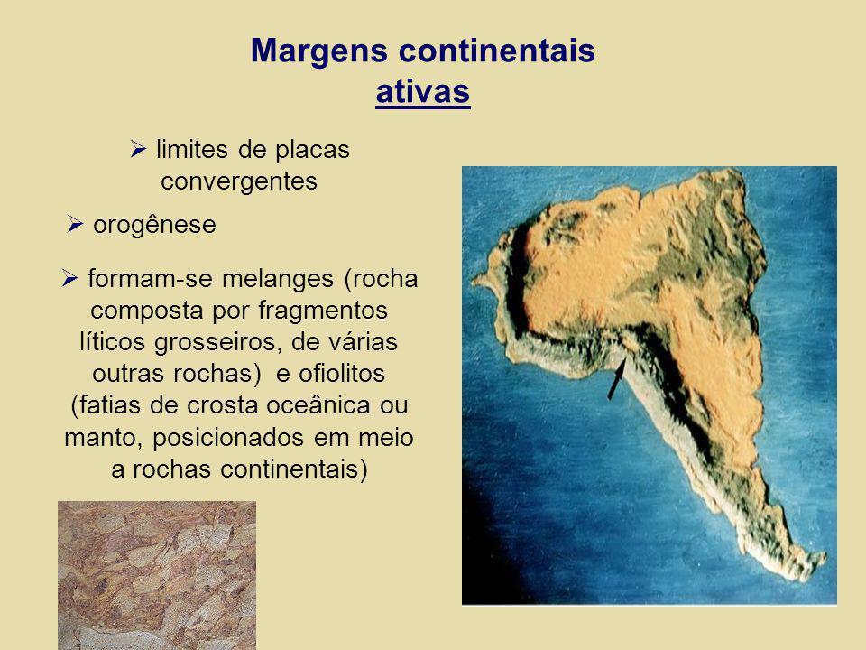 Margens continentais ativas
