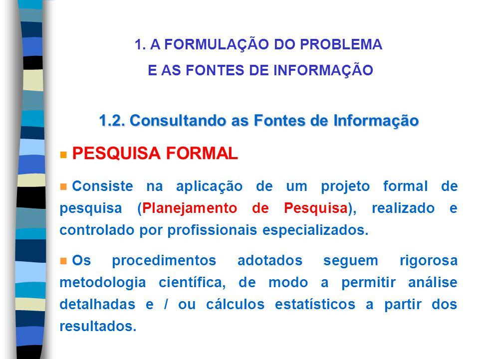 1.2. Consultando as Fontes de Informação