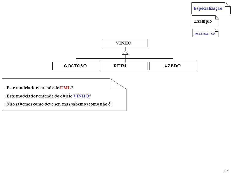 . Este modelador entende de UML