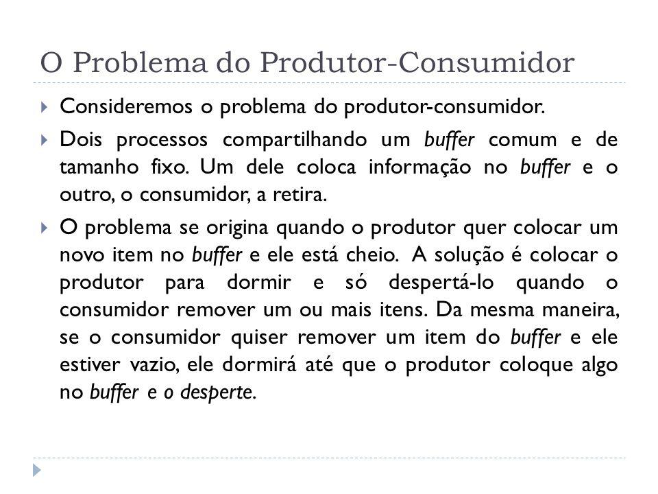 O Problema do Produtor-Consumidor