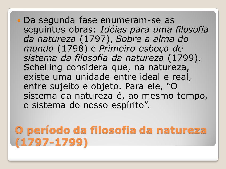 O período da filosofia da natureza (1797-1799)