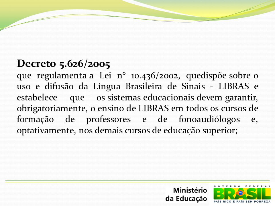 Decreto 5.626/2005
