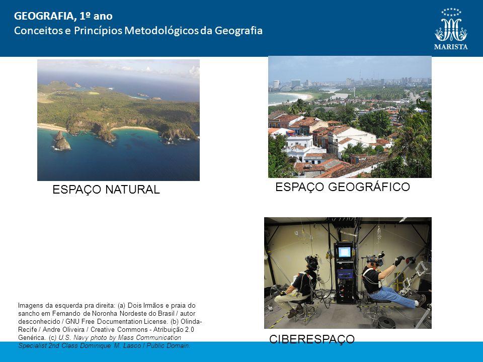 Conceitos e Princípios Metodológicos da Geografia