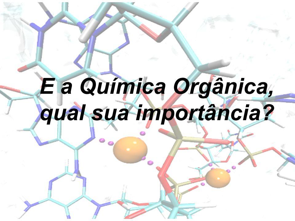 E a Química Orgânica, qual sua importância