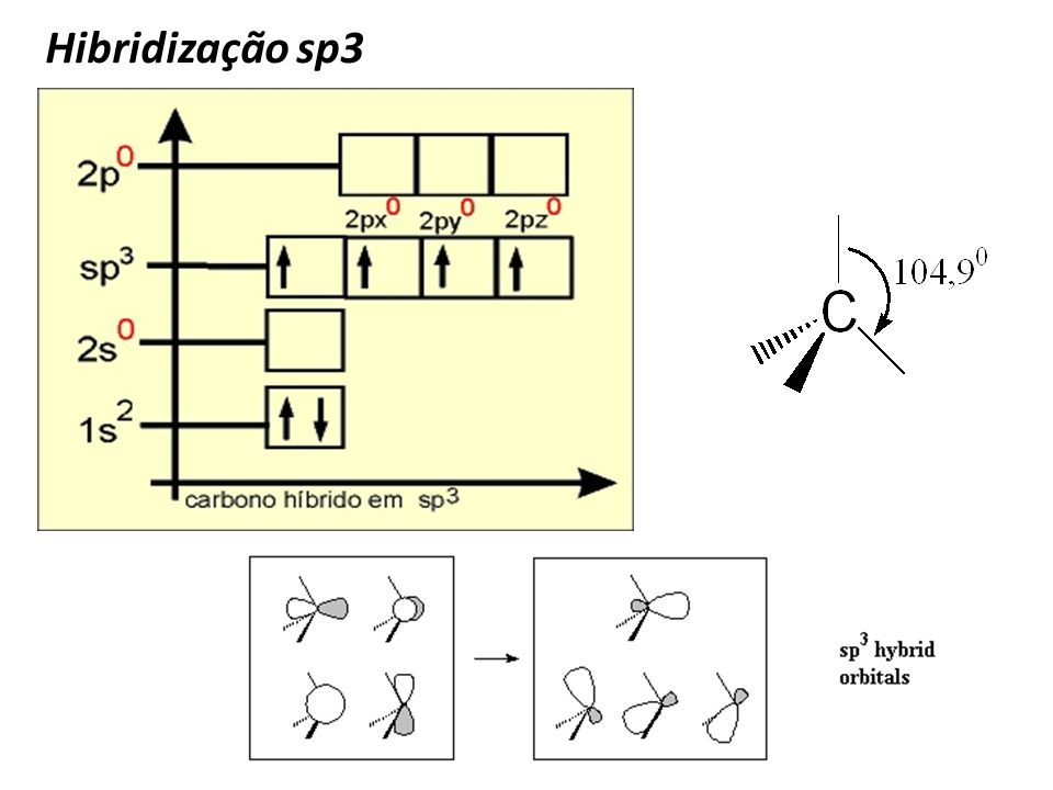 Hibridização sp3