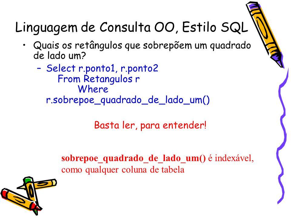 Linguagem de Consulta OO, Estilo SQL