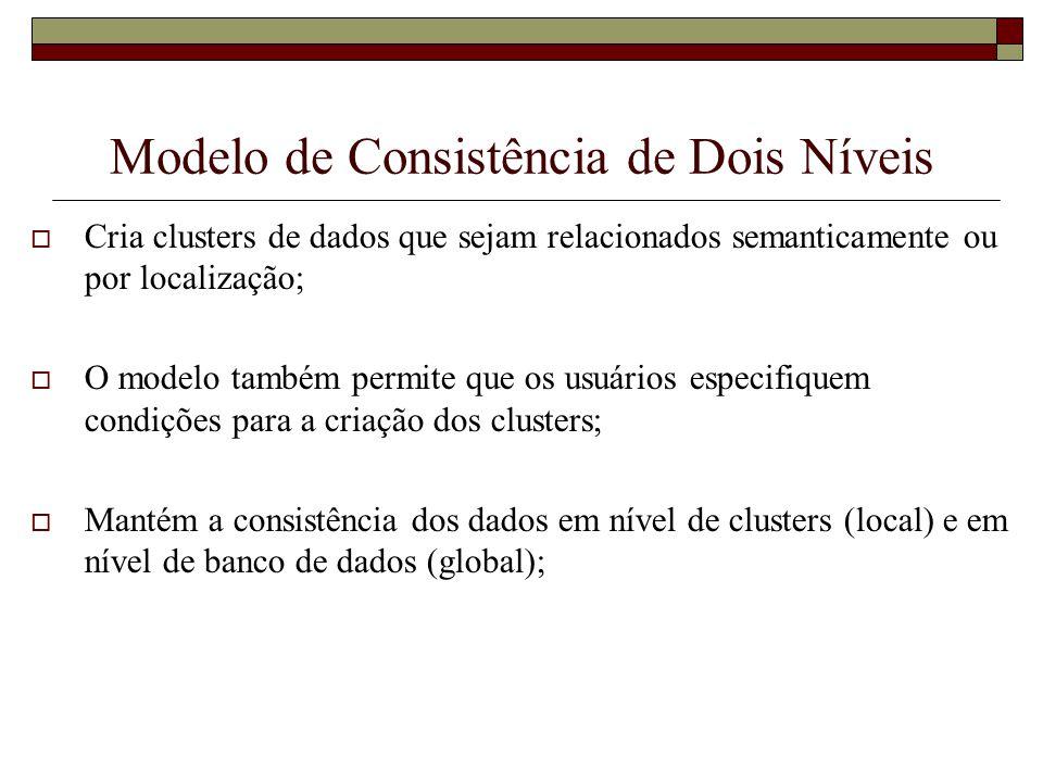 Modelo de Consistência de Dois Níveis