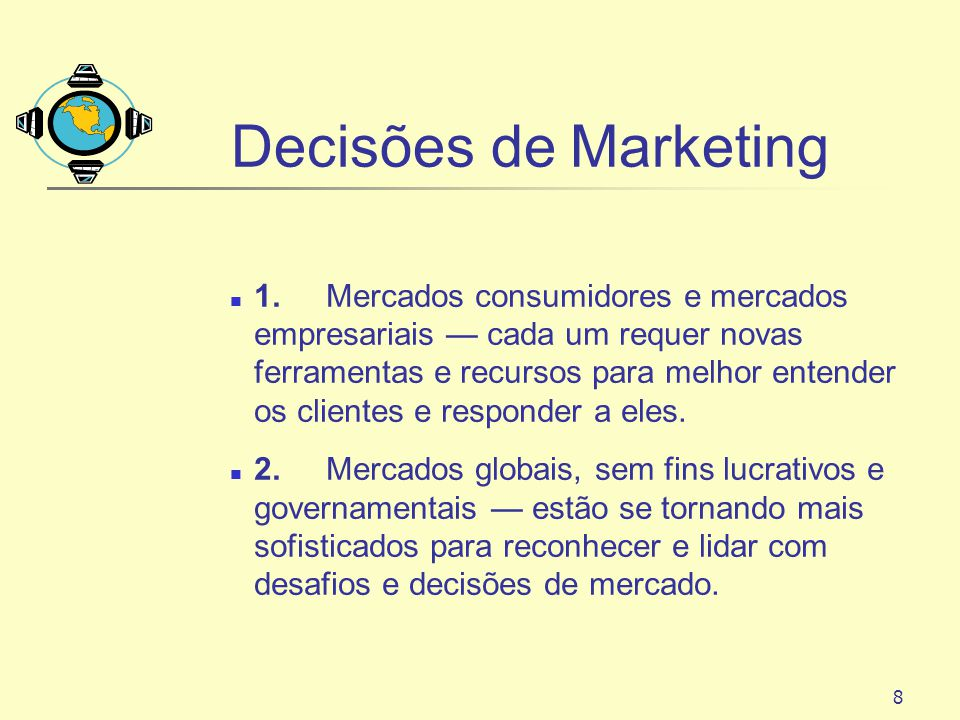 Decisões de Marketing