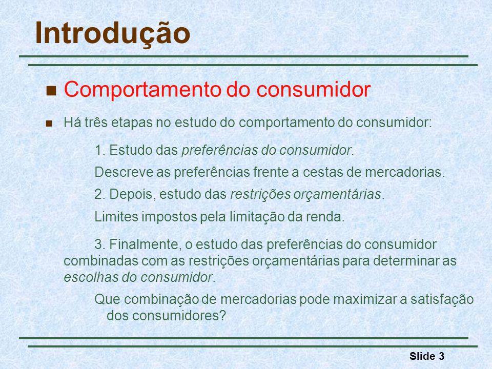 Introdução Comportamento do consumidor