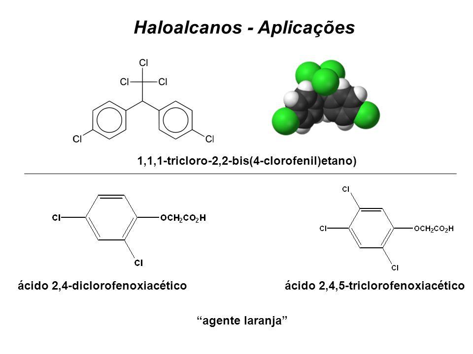 Haloalcanos - Aplicações