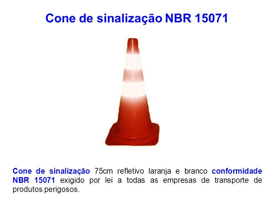 Cone de sinalização NBR 15071