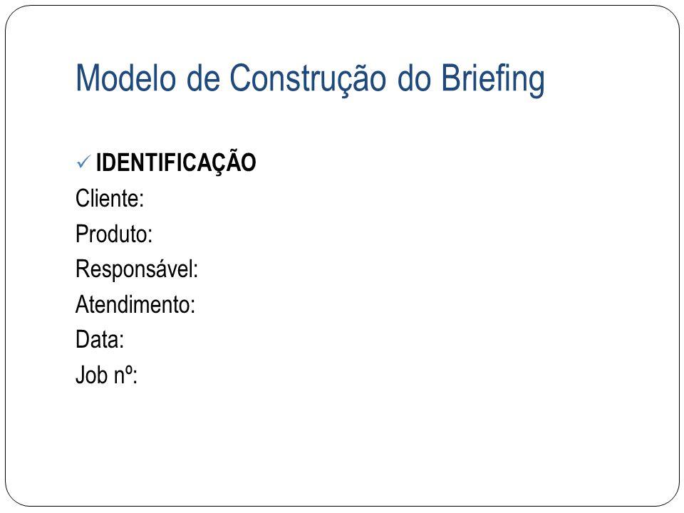 Modelo de Construção do Briefing