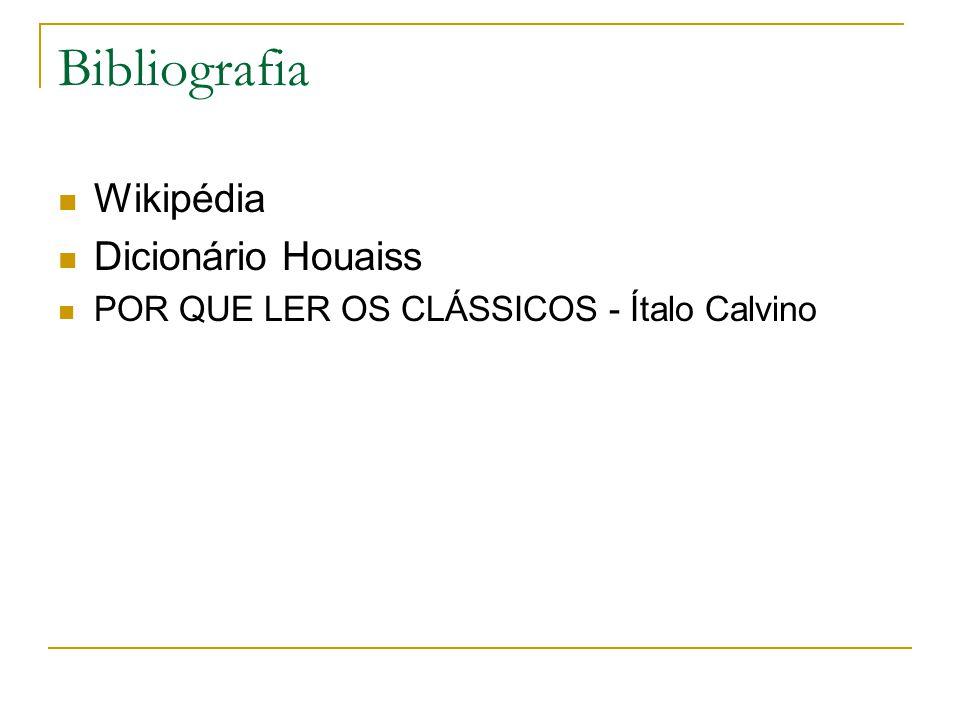 Bibliografia Wikipédia Dicionário Houaiss