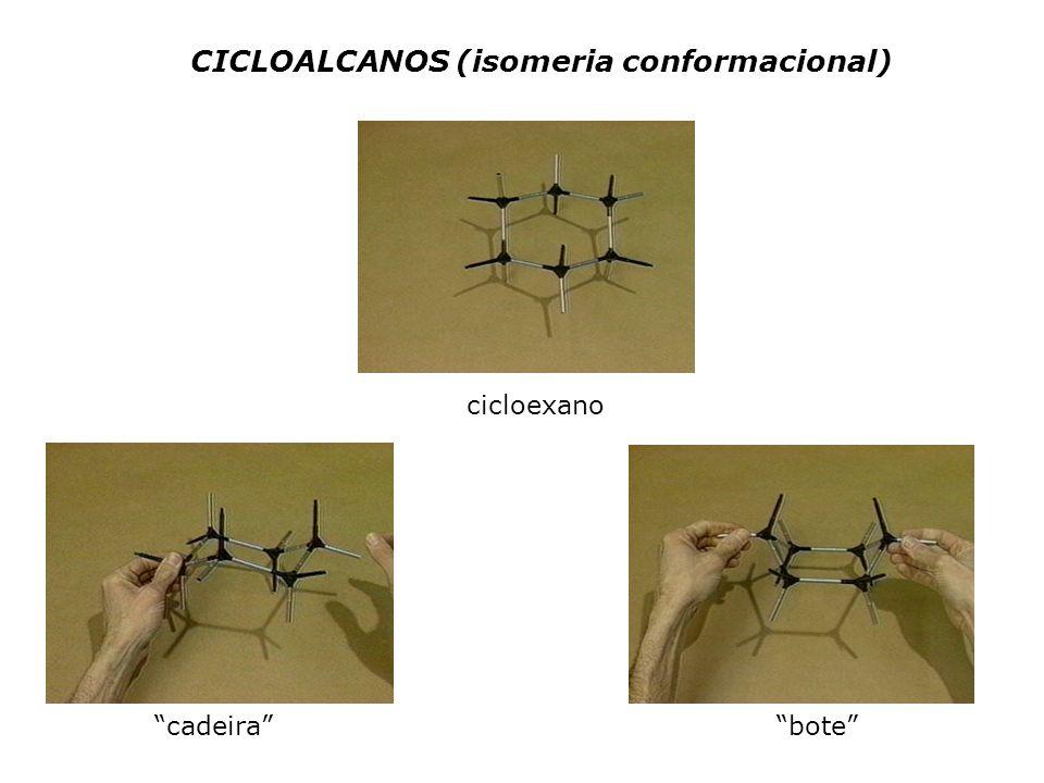 CICLOALCANOS (isomeria conformacional)