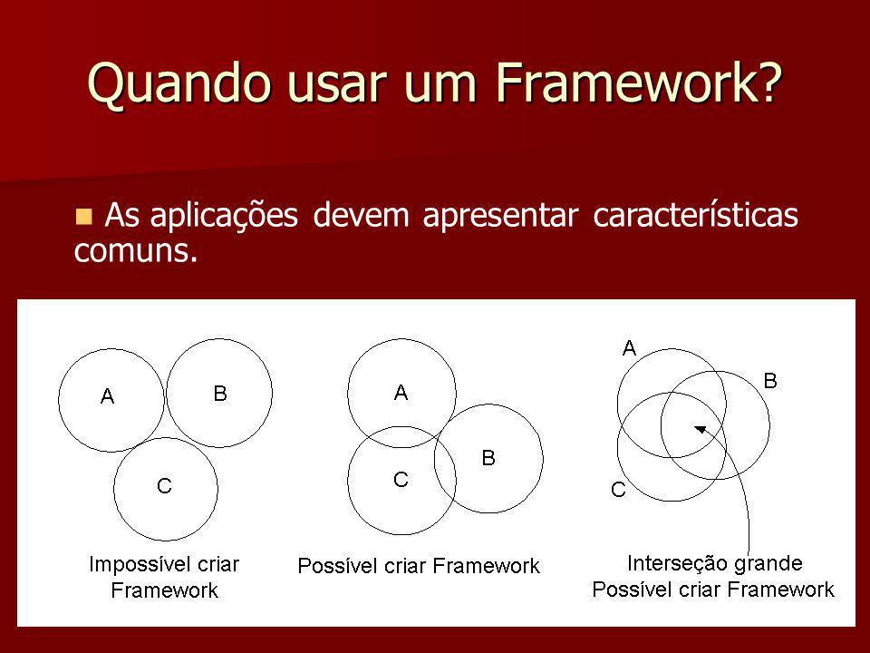 Quando usar um Framework
