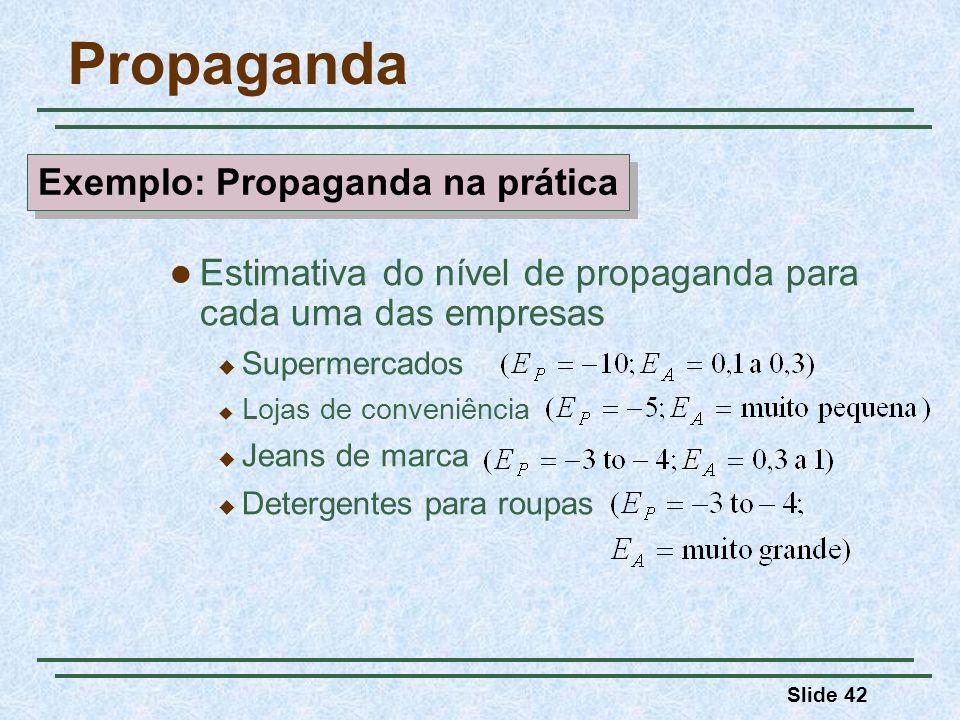 Exemplo: Propaganda na prática