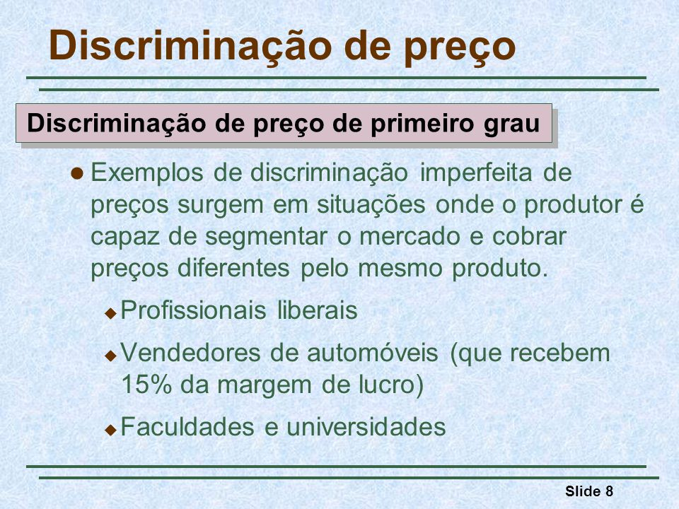 Discriminação de preço