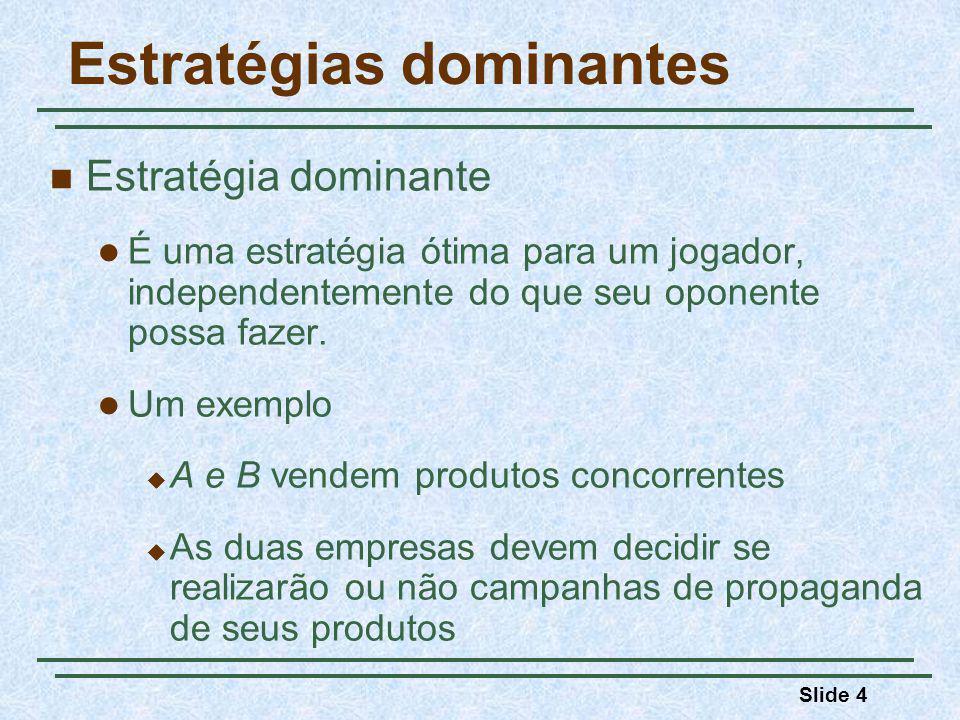 Estratégias dominantes