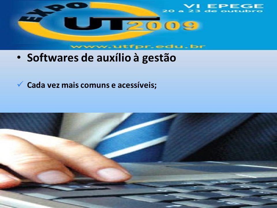 Softwares de auxílio à gestão