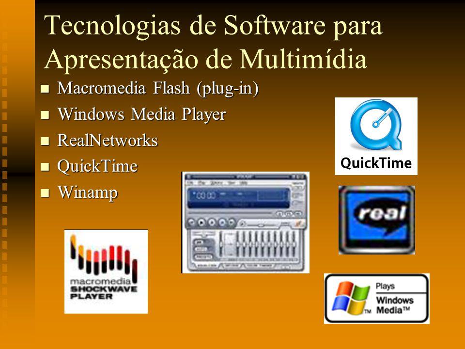 Tecnologias de Software para Apresentação de Multimídia