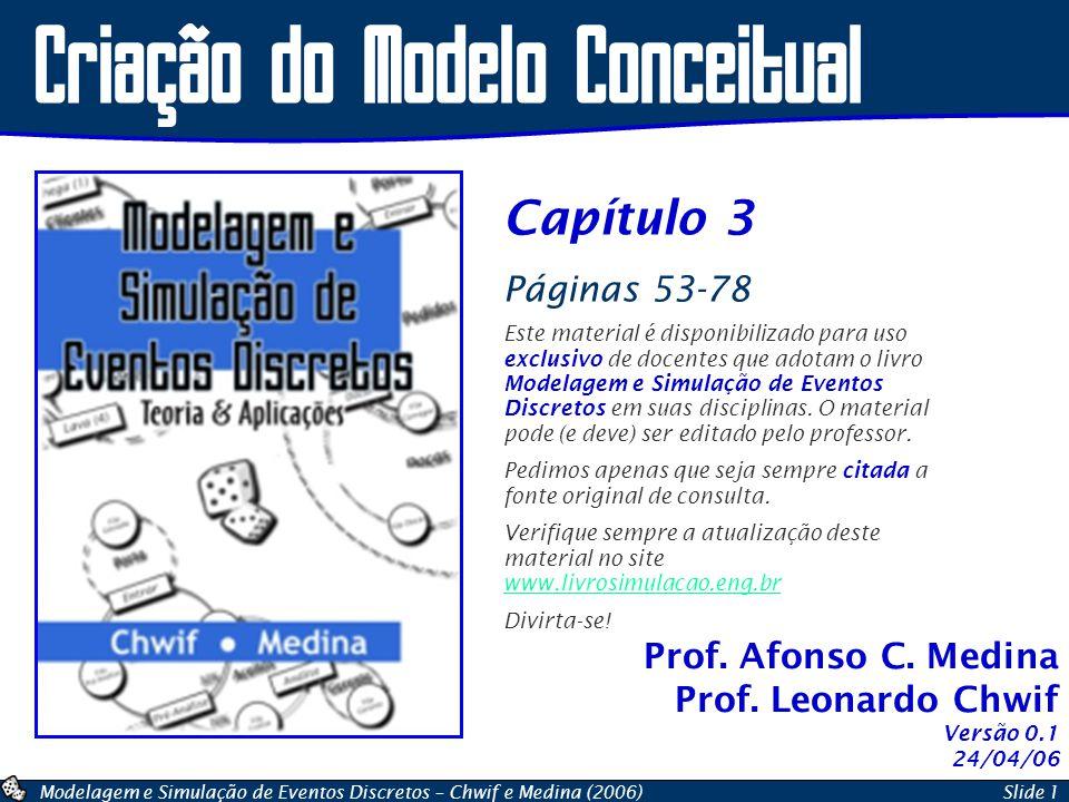 Criação do Modelo Conceitual