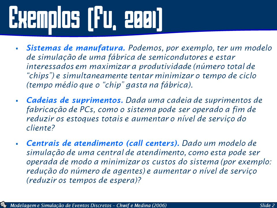 Exemplos (fu, 2001)