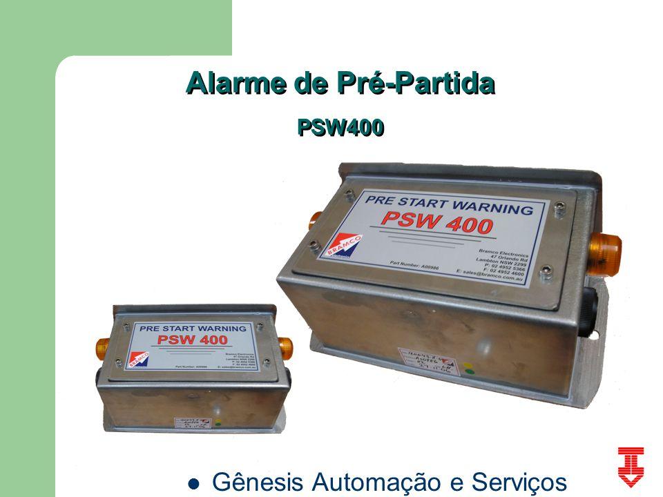 Alarme de Pré-Partida PSW400