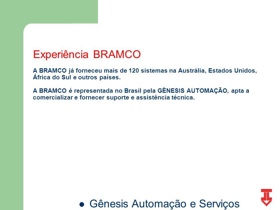 Experiência BRAMCO A BRAMCO já forneceu mais de 120 sistemas na Austrália, Estados Unidos, África do Sul e outros países.