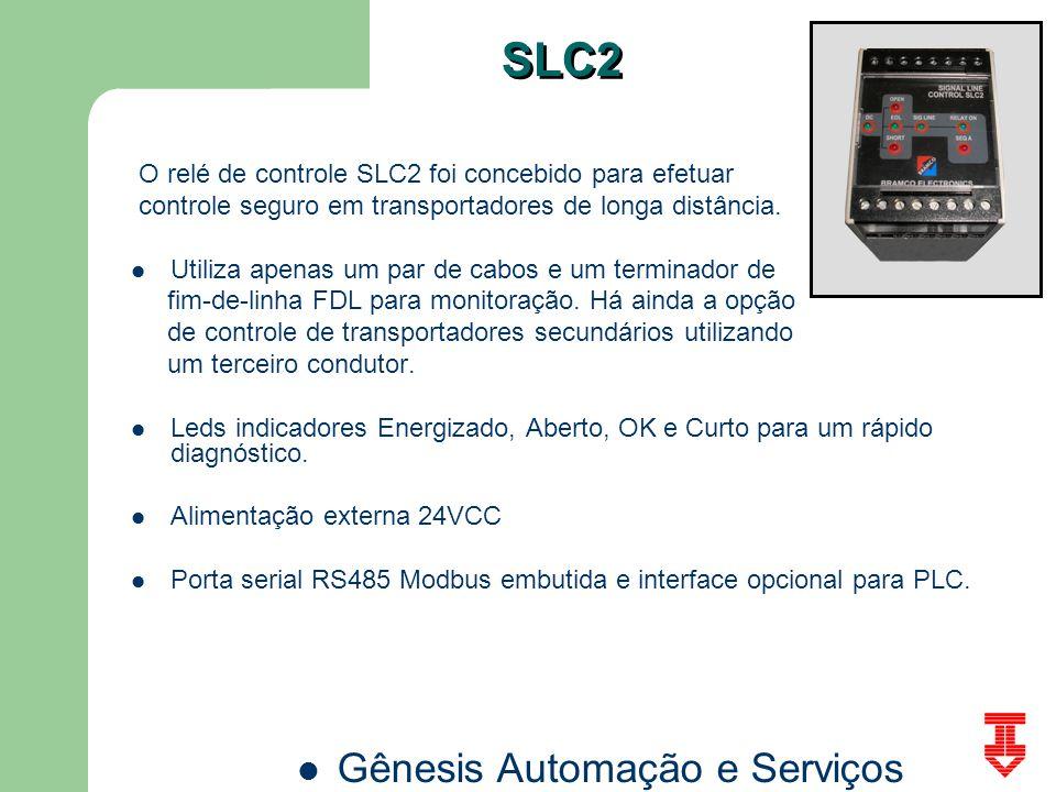 SLC2 O relé de controle SLC2 foi concebido para efetuar