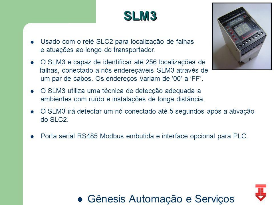 SLM3 Usado com o relé SLC2 para localização de falhas
