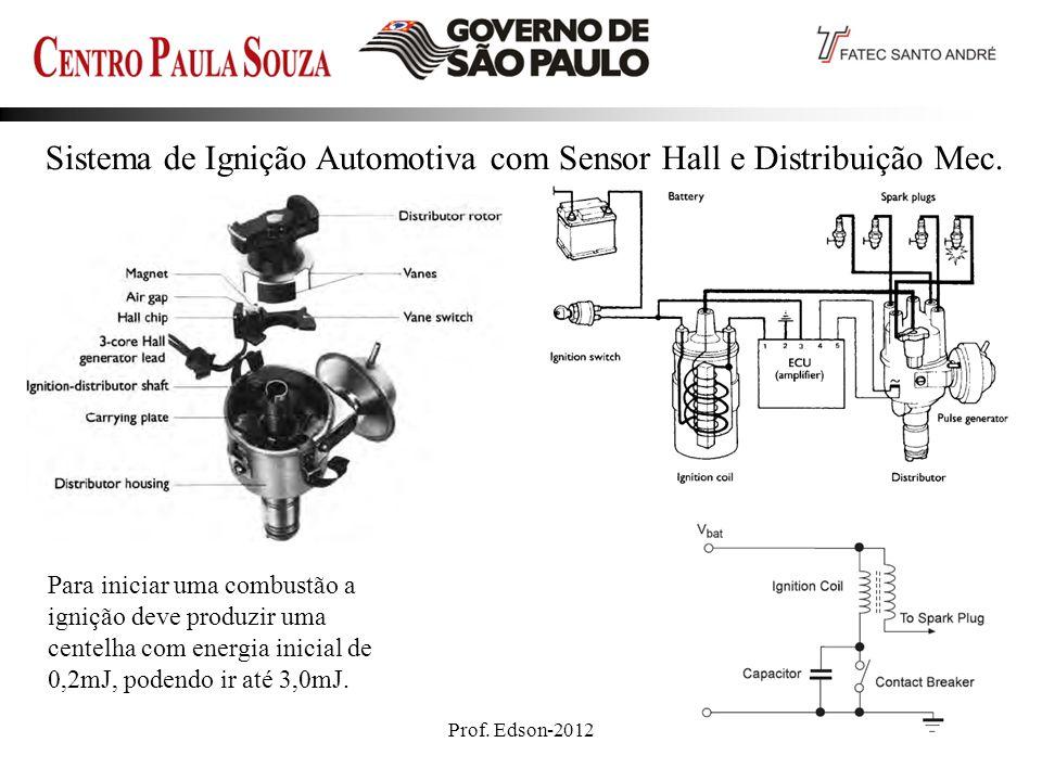 Sistema de Ignição Automotiva com Sensor Hall e Distribuição Mec.