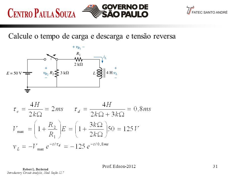 Robert L. Boylestad Introductory Circuit Analysis, 10ed. Seção 12.7