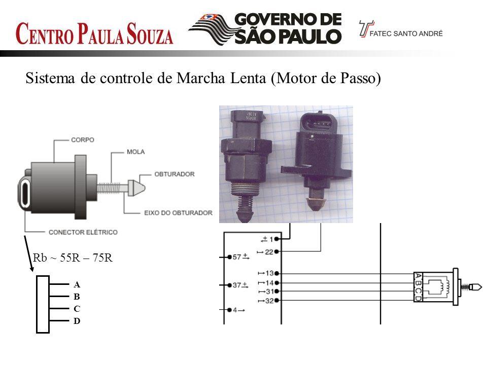 Sistema de controle de Marcha Lenta (Motor de Passo)