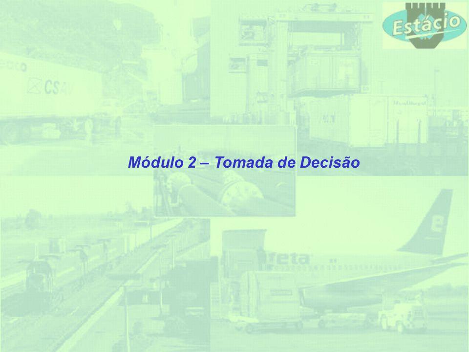 Módulo 2 – Tomada de Decisão