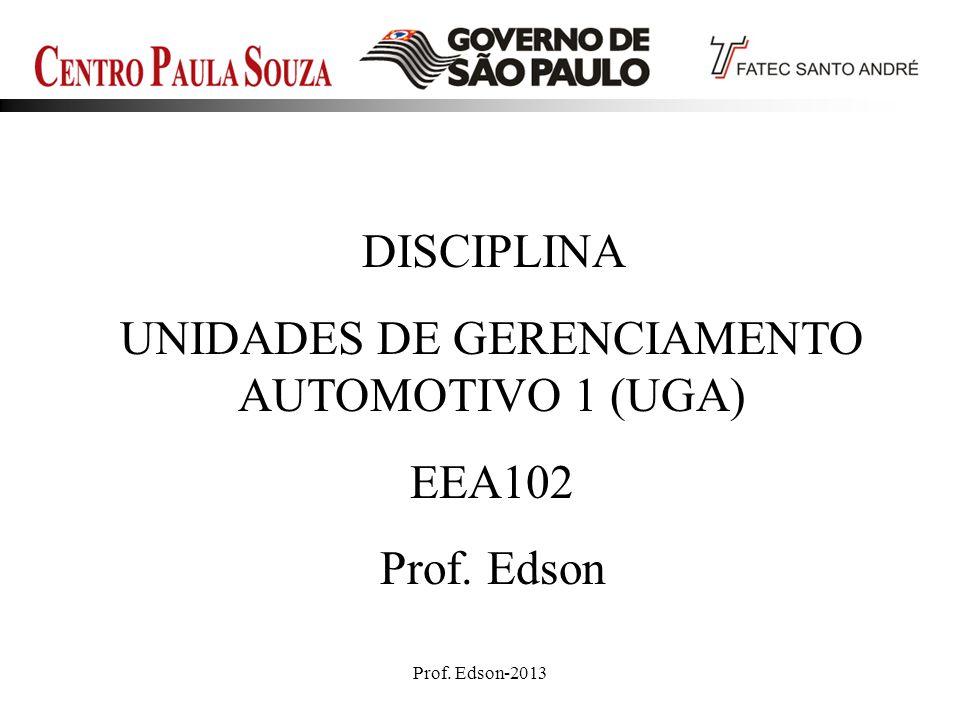 UNIDADES DE GERENCIAMENTO AUTOMOTIVO 1 (UGA)