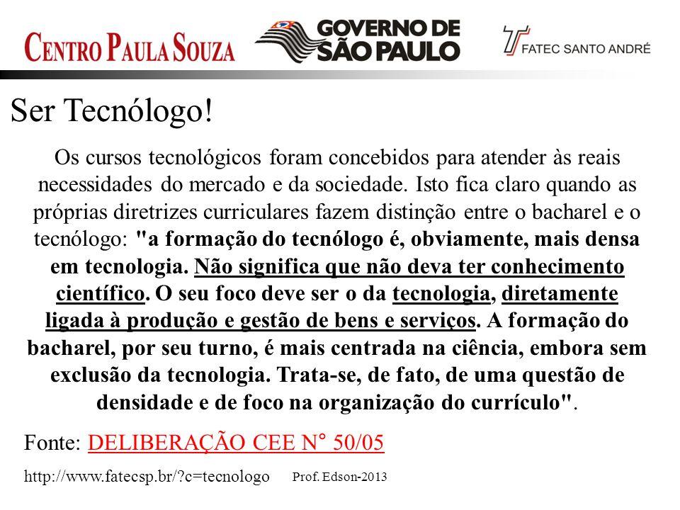 Ser Tecnólogo!