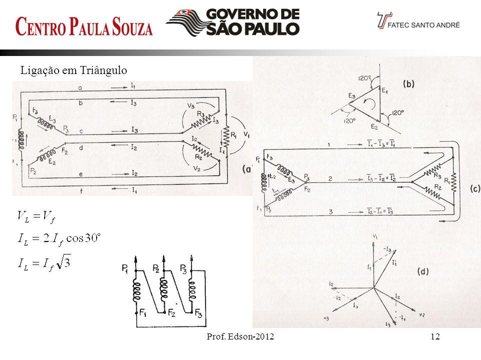 Ligação em Triângulo Prof. Edson-2012