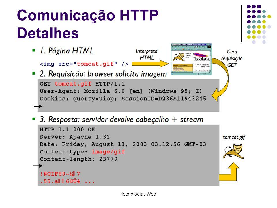Comunicação HTTP Detalhes