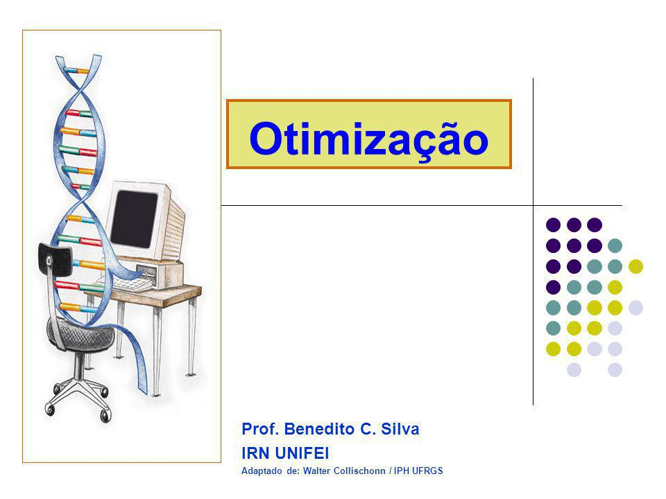 Otimização Prof. Benedito C. Silva IRN UNIFEI