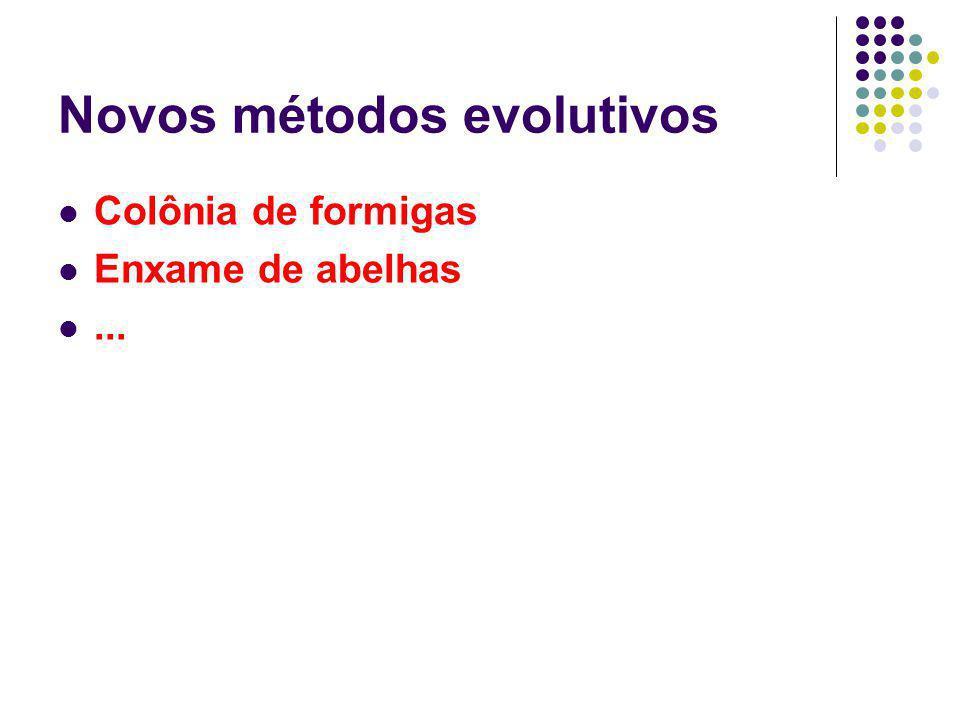 Novos métodos evolutivos