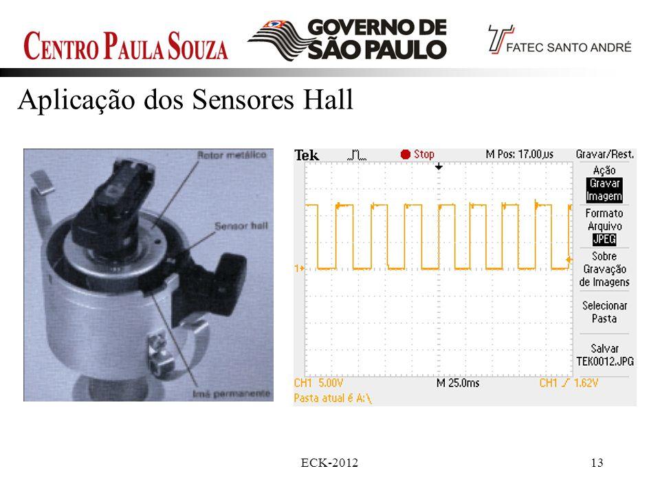 Aplicação dos Sensores Hall