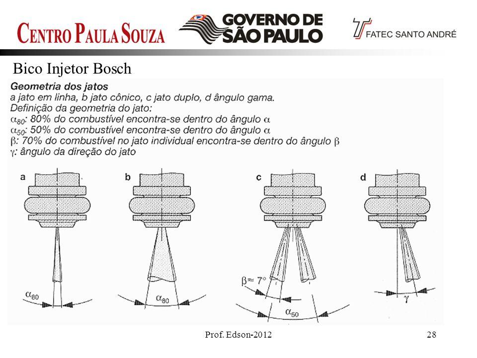 Bico Injetor Bosch Prof. Edson-2012