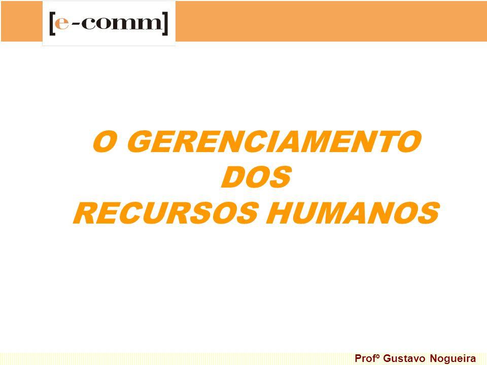 O GERENCIAMENTO DOS RECURSOS HUMANOS