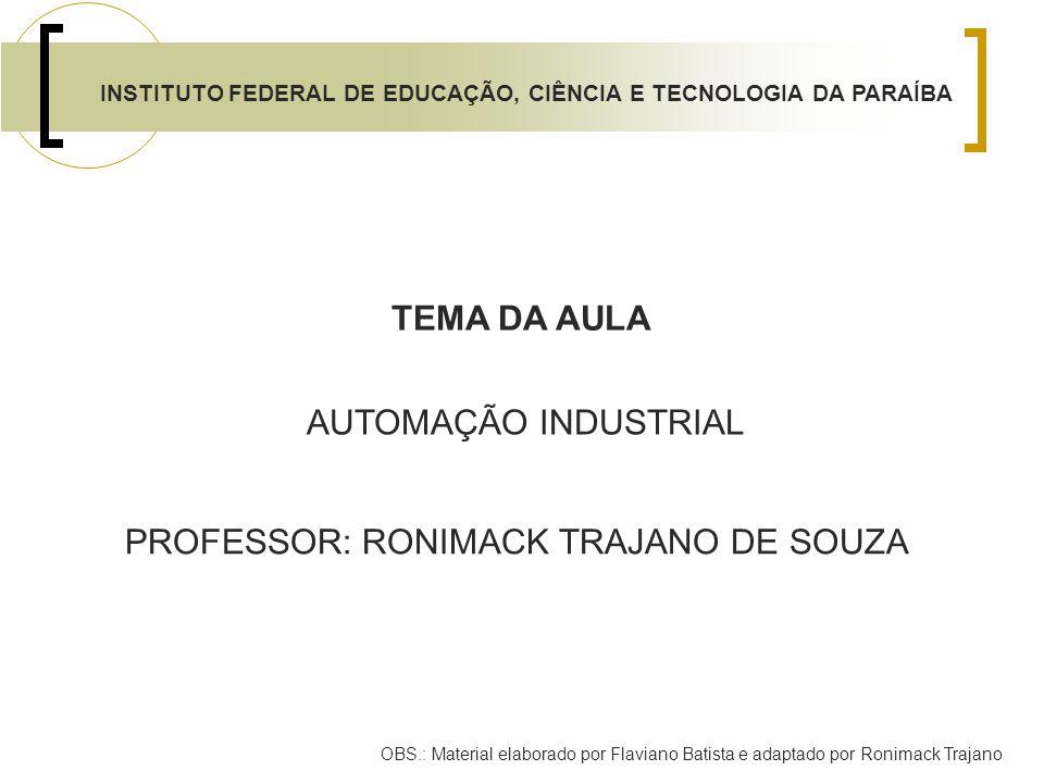 INSTITUTO FEDERAL DE EDUCAÇÃO, CIÊNCIA E TECNOLOGIA DA PARAÍBA