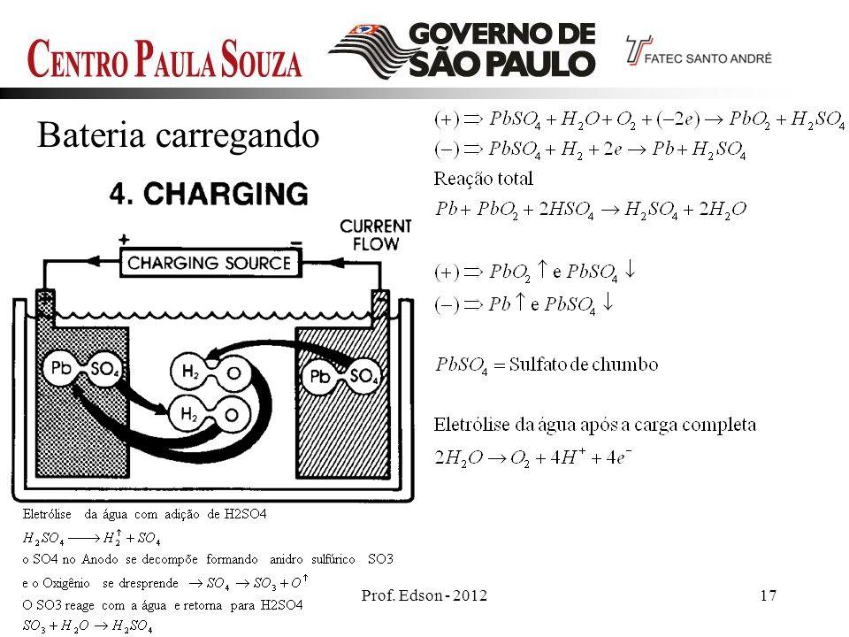 Bateria carregando Prof. Edson - 2012