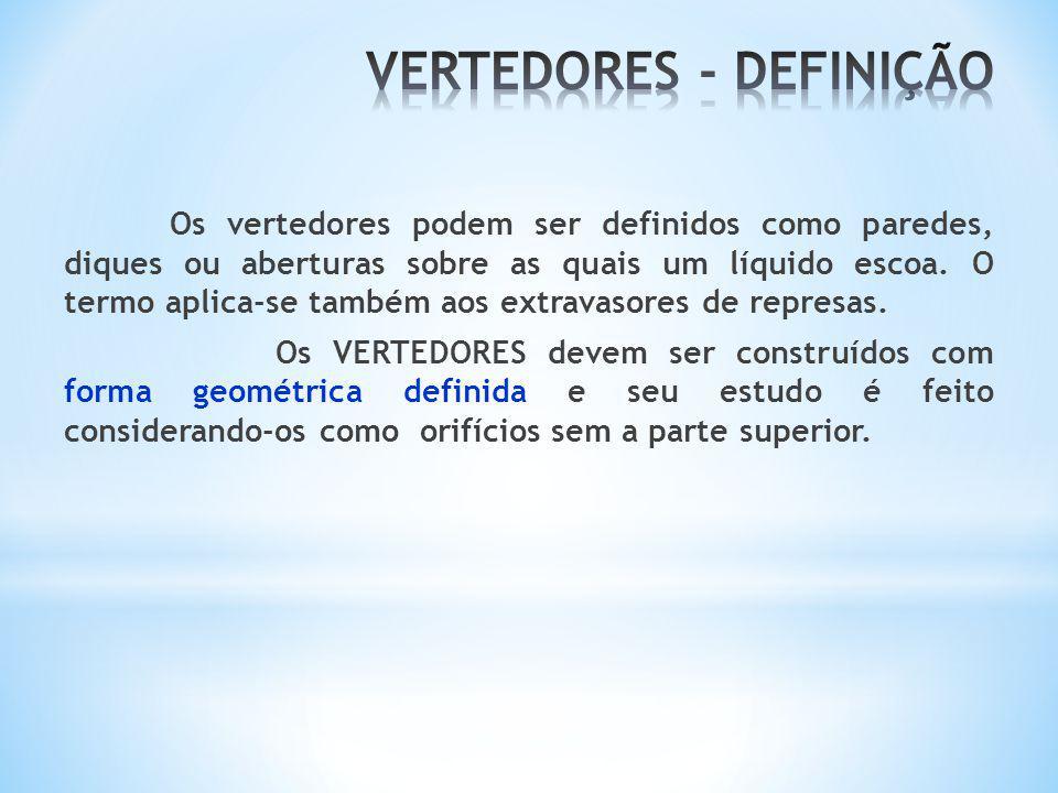 VERTEDORES - DEFINIÇÃO