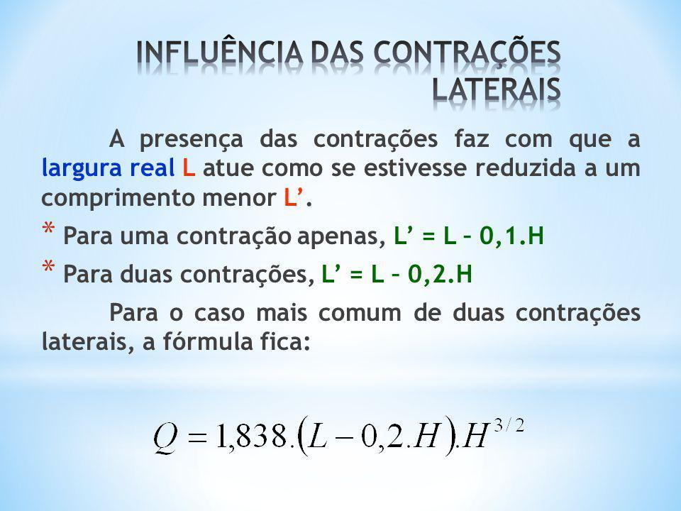 INFLUÊNCIA DAS CONTRAÇÕES LATERAIS