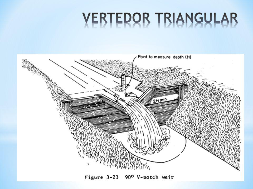 VERTEDOR TRIANGULAR