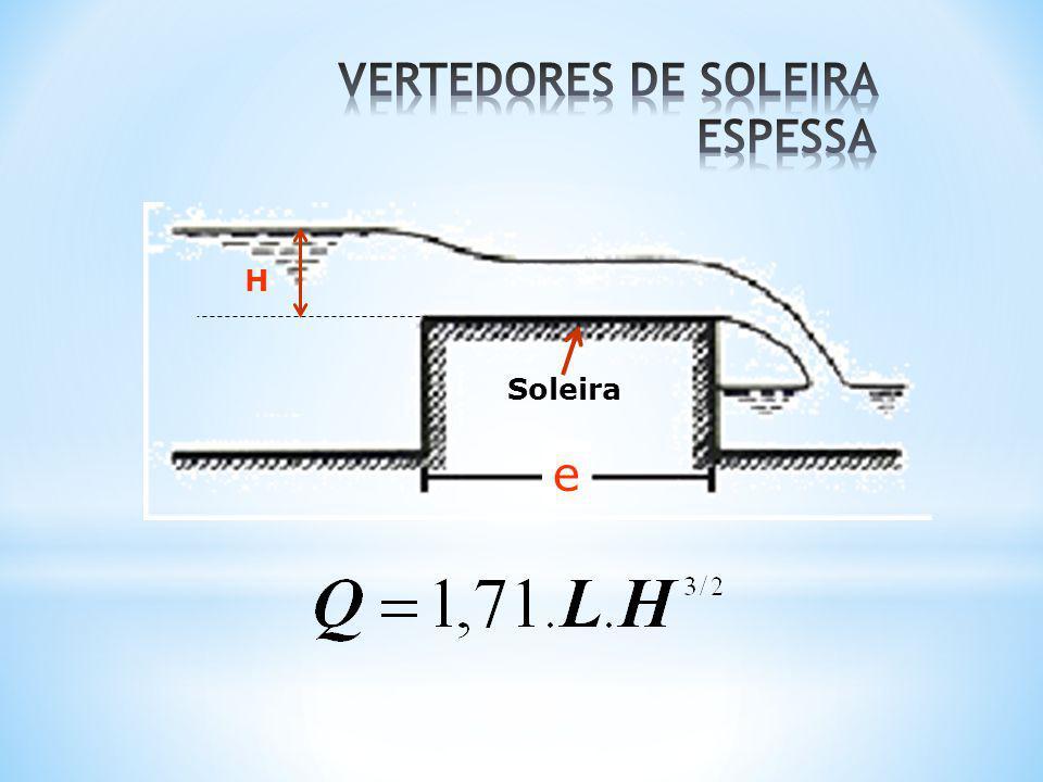 VERTEDORES DE SOLEIRA ESPESSA